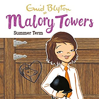 Malory Towers: Summer Term     Malory Towers, Book 8              By:                                                                                                                                 Enid Blyton,                                                                                        Pamela Cox                               Narrated by:                                                                                                                                 Esther Wane                      Length: 4 hrs and 44 mins     26 ratings     Overall 4.7