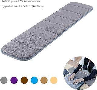 Upgraded Computer Wrist Elbow Pad, Creatiee Premium Memory Cotton Desktop Keyboard Arm Rest Support Matfor Office Desktop...