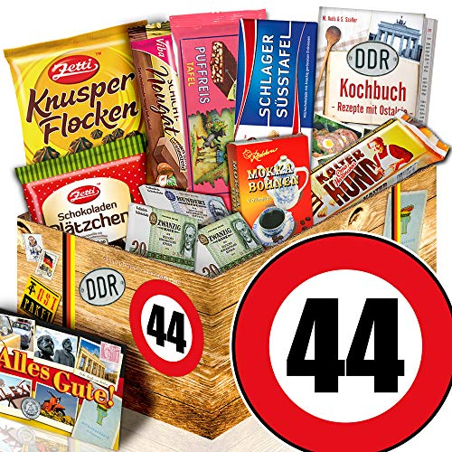 Geschenk 44. Geburtstag / DDR Schoko Waren / Geschenke zum 44 Geburtstag Frauen