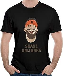 Baker T-Shirt Mayfield Shake and Bake Cotton Men's T-Shirts Short Sleeve Tees & Tops Clothing