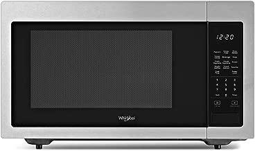 Whirlpool 1.6 cu. ft. Countertop Microwave in Fingerprint Resistant Stainless Steel with 1,200-Watt Cooking Power
