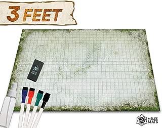 Battle Grid Game Mat - 24