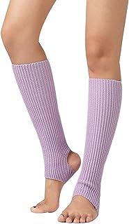 Pandiki, Wear Daily Mujer Mujer 1 Par América Calcetines de Fitness Bailar Ejercicio Caliente Largo Que Camina de la Sección de Tejer Calcetines