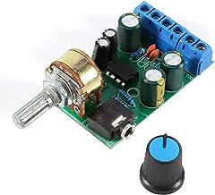 DC1.8-12V TDA2822M Amplificador 2-Canales Estéreo 3,5 mm AUX Módulo de Placa de Amplificador de Audio