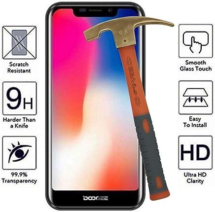 Todo Phone Store Protector Pantalla Antigolpes Vidrio Cristal Templado 9H ESTANDAR para DOOGEE X70