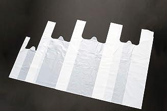 TJC 生分解性レジ袋 ショップバッグ ニュー環境バッグ トウモロコシを主原料としたPLA樹脂を使用 地球にやさしい ポリ乳酸 SSサイズ ホワイト