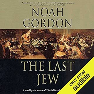The Last Jew audiobook cover art