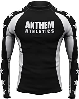 Anthem Athletics Midnight Ranked Competition Rash Guard Compression Shirt - BJJ (IBJJF Approved) & MMA