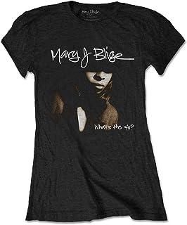 Rockoff MJBTS02LB05 T-Shirt, Nero, XXL Donna