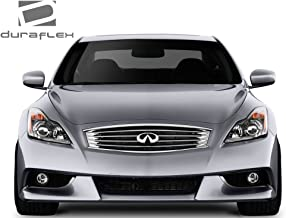 Extreme Dimensions Duraflex Replacement for 2008-2015 Infiniti G Coupe G37 Q60 IPL Look Front Bumper Cover - 1 Piece