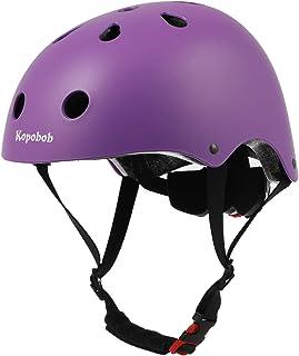 Kids Bike Helmet Skateboard Cycling Helmet, Kopobob ASTM...