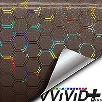 60 Inch x 48 Inch Extra-Large roll VViViD Air-Tint Golden Yellow Headlight//Tail Light Window Tint
