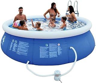 HEROTIGH Piscinas Hinchables De Gran Tamano Inflable Bebe Infantil Inflable Piscina Piscina Piscina Infantil Familia Bebe 360X76Cm Inflatable Pool