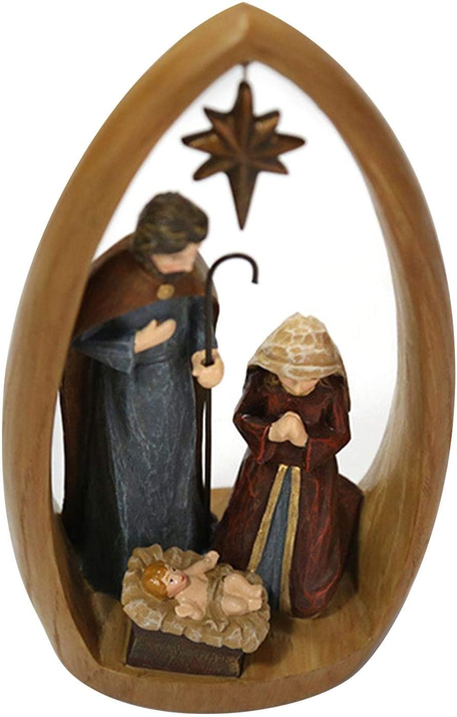 narratorbook Nativity Scenes for Christmas Indoor Ranking TOP8 Nati High quality new Religious