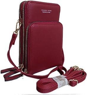 فور ايفير يانغ حقيبة للنساء-احمر - حقائب طويلة تمر بالجسم