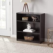Mainstay` Orion Wide 5-Shelf Bookcase (Black, 5-Shelf) (Espresso, 3-Shelf Standard)