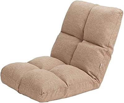 REWD Lazy Chair, Lazy Sofa Single Folding Bed Chair Bedroom