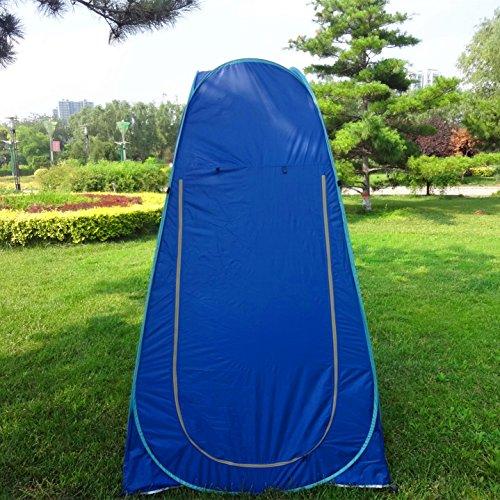 Pop Up Pod Vestiaire Tente de confidentialit/é Tente de douche ext/érieure portable instantan/ée Camp Toilette Abri de pluie pour camping et plage