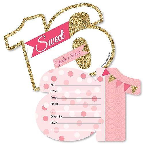 Sweet 16 Invites Amazon Com