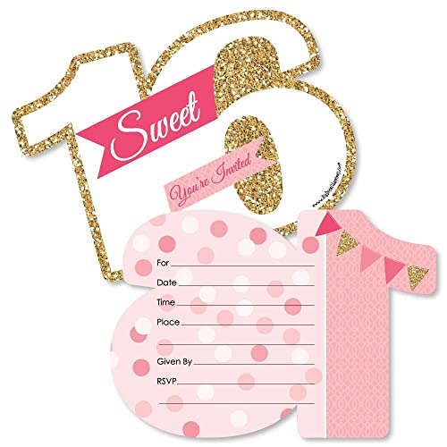 Sweet 16 Birthday Invitations Amazon