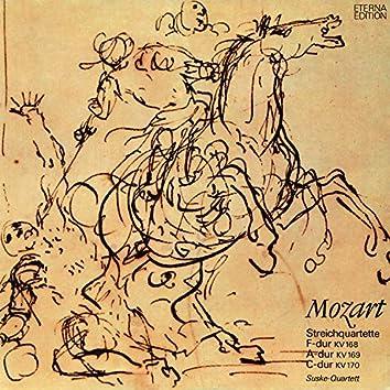 Mozart: Streichquartette 8-10