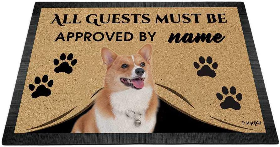 BAGEYOU All Guests Must be Approved Ranking TOP7 Dog Cor with Doormat Oakland Mall My Love