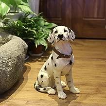 Danmu 1Pc of Polyresin Dalmatian Dog Statue, Garden Statues, Outdoor Statues, Garden Ornaments, Yard Statue for Home and Fairy Garden Decor 9