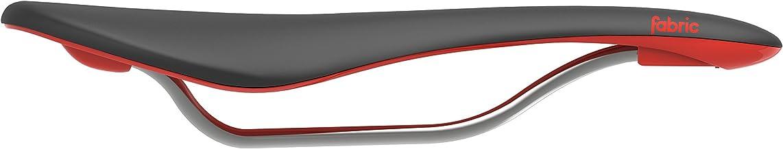 Fabric Scoop Flat Elite Saddle Black Red