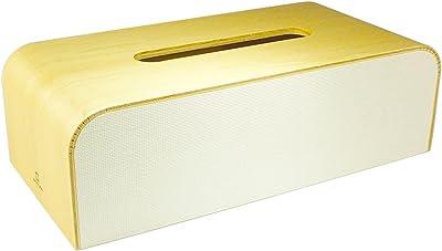 ヤマト工芸 COLOR-BOX ティッシュケース TISSUECASE 白色 YK05-108Wh