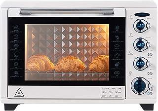 Toaster oven STBD- Horno inversor doméstico, Capacidad 38L, Parrilla de Tres Capas y Bandeja de escoria incorporada, Nueve menús preestablecidos, tostadora de Mesa de Cocina, 1800W