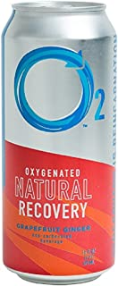 O2 Natural Recovery Drink - Grapefruit Ginger - 12 Pack