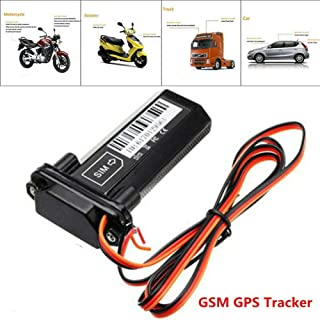 Mini 2G Global Real Time Tracking Device Vehicle GSM GPS Tracker Alarm Locator Anti-Theft Anti-Lost Device for Cars, Boats, Motorcycle
