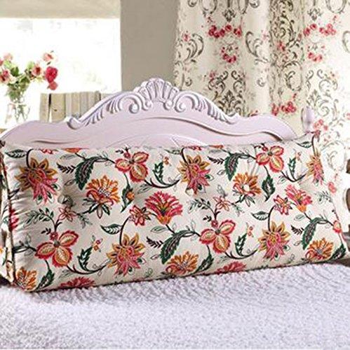 YOTA HOME Bedside Rückenlehne Dreieck Kissen Doppelbett Schlafsofa Bettlehne Bett Rückenlehne Großer Schlafanzug Relaxable (Farbe : A3, größe : 120 * 50 * 25cm)