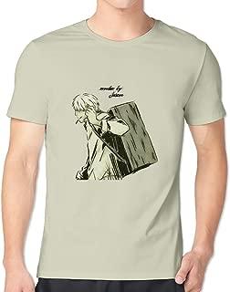 GYKU Men's Mushishi T-Shirt ,100% Cotton