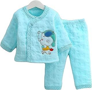 GRAPPLE DEALS Newborn Baby's Winter Wear Warm Cotton 2 Pcs Gift Set 0 to 4 Month. (Any Print - 1 Set)