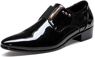 [Cartoden] ビジネスシューズ メンズ エナメル 革靴 軽量 通勤 オフィス スリッポン 紳士靴 24.0cm~28.0cm