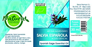 Natura Premium Aceite Esencial Salvia Española Bio 30 Ml 30 ml