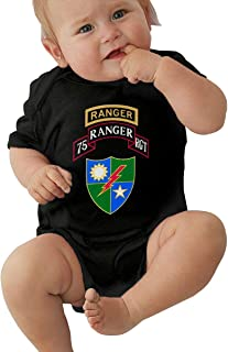 Rangers Creed US Army Rangers Baby Organic One-Piece Suit Organic Bodysuits