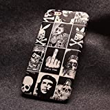 Sloskei iPhone 6/6s case,Cartoon creativity, cortical relief process, silicone anti fall mobile phone sets for iPhone 6/6s Case