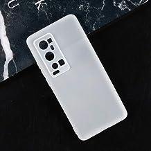 Vivo X60 Pro+ V2056A Case, Scratch Resistant Soft TPU Back Cover Shockproof Silicone Gel Rubber Bumper Anti-Fingerprints F...