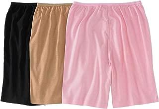 Women's Plus Size 3-Pack Cotton Boxer