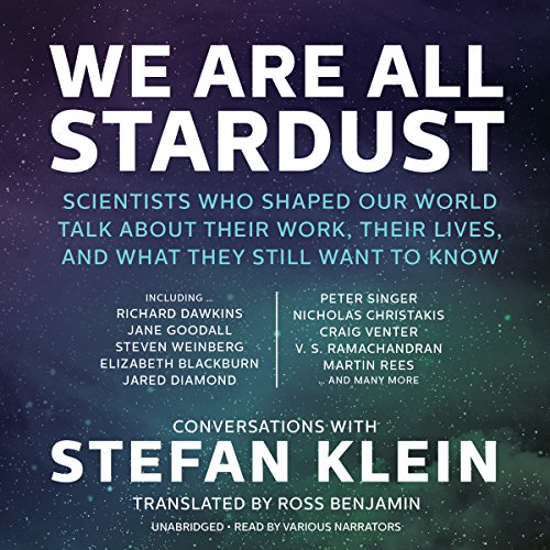 We Are All Stardust audiobook cover art