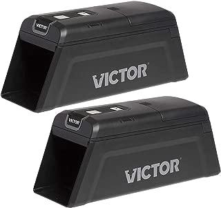 Victor M2-2P M2 Smart-Kill Wi-Fi Electronic Rat Trap-2 Pack, Black
