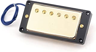 Musiclily Pro 52mm Humbucker Bridge Double Coil Pickup for Gibson Les Paul Epiphone Electric Guitar, Gold