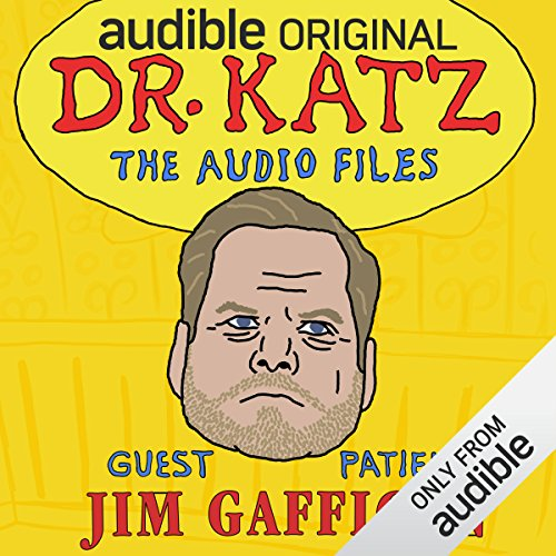 Ep. 15: Jim Gaffigan (Dr. Katz: The Audio Files) audiobook cover art