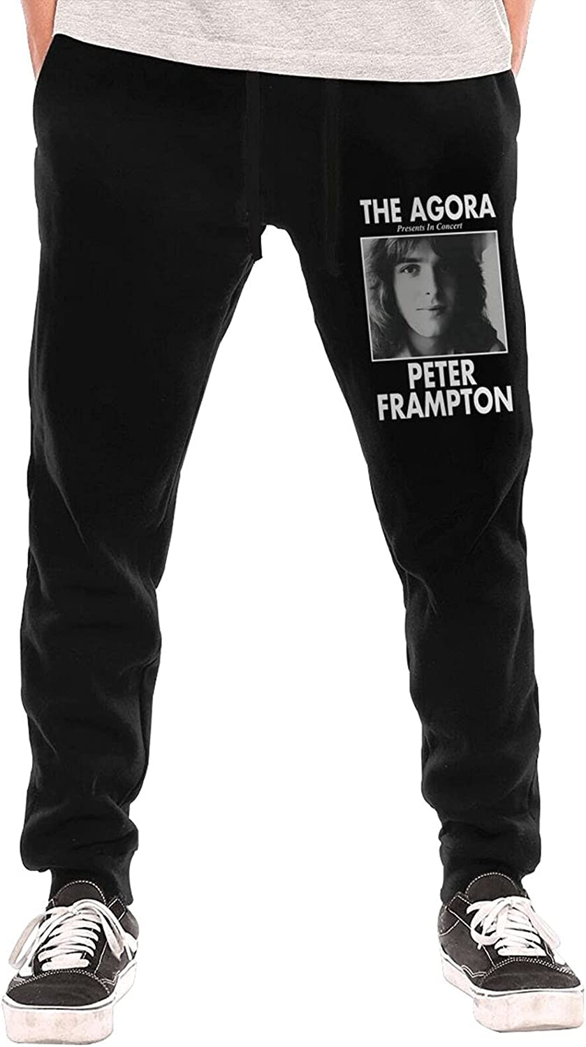 RandyDPeter Peter Frampton Boys Sweatpants Cool Trousers Long Pant with Pocket for