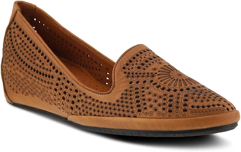 Spring Step Women's Shondra shoes   color Camel   Leather shoes