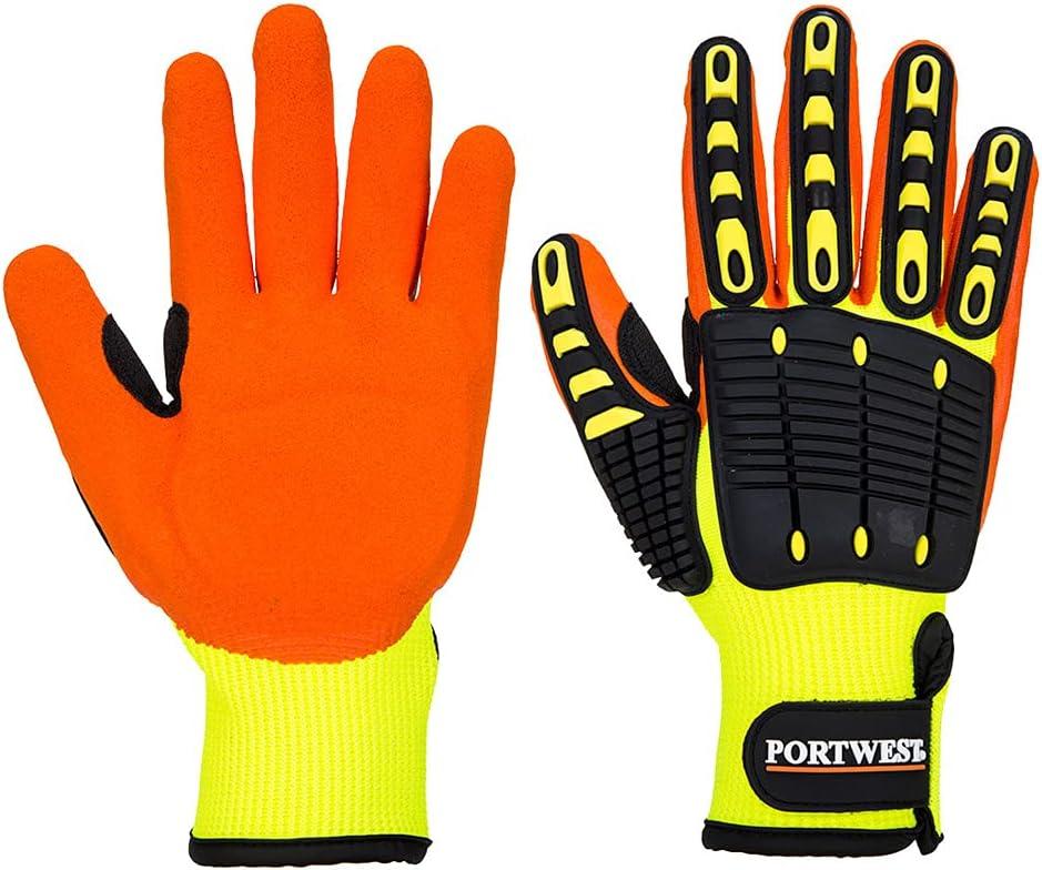 Portwest Anti Minneapolis Mall Impact Surprise price Grip Glove Protectio Work Safety Ressistant