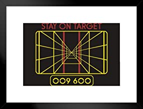 Poster Foundry Stay On Target Targeting Computer 20x26 inches Black 230540