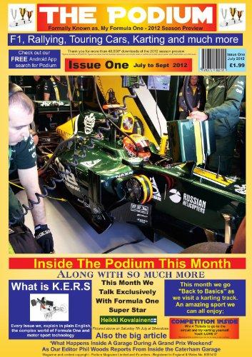 The Podium Issue One - Motor Sort Magazine (English Edition)